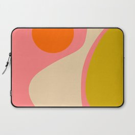 abstract composition modern blush pink Laptop Sleeve