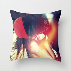 SEX ON TV - LUCKY STAR by ZZGLAM Throw Pillow
