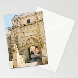 Mdina City Gates Stationery Cards