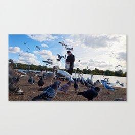 Birdman III Canvas Print