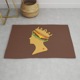 Burger Queen aka Royal With Cheese Rug