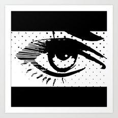 POP eye Art Print