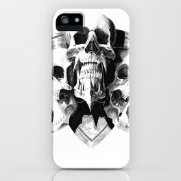 ominous dark without type iPhone Case