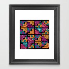 Wari pop V Framed Art Print
