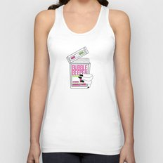 90s Bubble Beeper Chewing Gum with Gothic Nails Unisex Tank Top