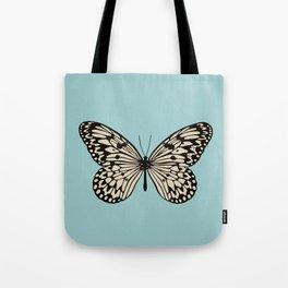 Paper Kite Moth (Idea Leuconoe) Tote Bag