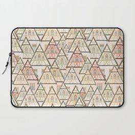 Pattern Houses Laptop Sleeve