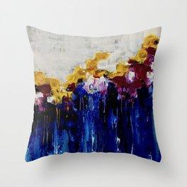 Always Flowers Throw Pillow