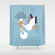 Delivery Policy Shower Curtain