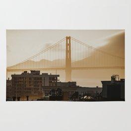 Golden Gate Bridge at Sunset Rug