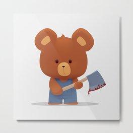 Killer bear Metal Print