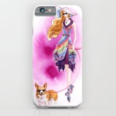 Vintage Fashion Corgi iPhone 6s Slim Case