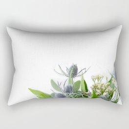 purple thistle bunch Rectangular Pillow