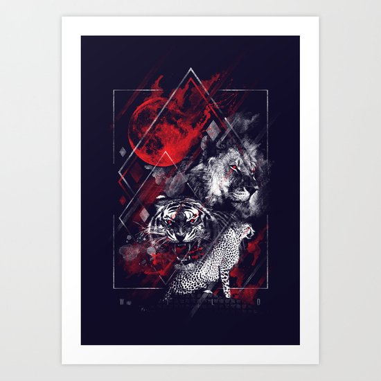 Wildcats Art Print