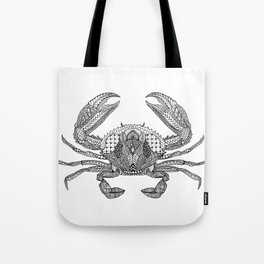 Tangled Crab Tote Bag