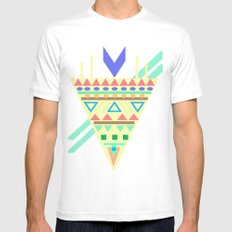 Triangle Affiniti Mens Fitted Tee MEDIUM White