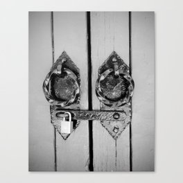 lock Canvas Print