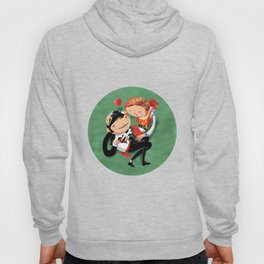 Manel & Maria (Etnography Portuguese People) Hoody