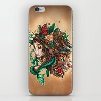 beast iPhone & iPod Skins featuring BEAST by Tim Shumate