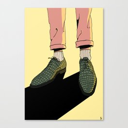 Wear those gators Canvas Print