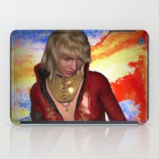 Grunge Girl iPad Case