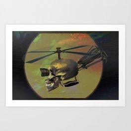 Magnus-Copter -007 Art Print