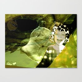 DUCKBOY under sea Canvas Print