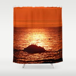 Time for Get-togethers Shower Curtain
