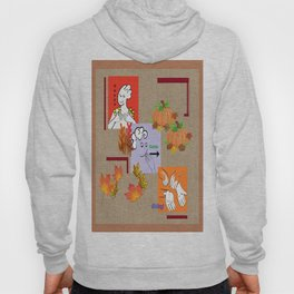 American Sign Language ASL Happy Thanksgiving Hoody