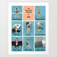 The Kama Sutra Of Sleep, Part 3: Solo Art Print