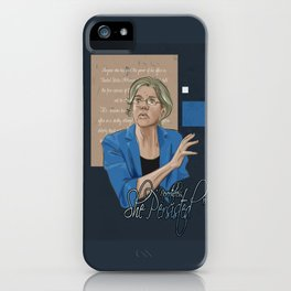 """Nevertheless, She Persisted"" iPhone Case"