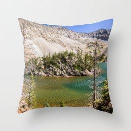 Colorado Pictures - Lake Agnes Throw Pillow
