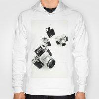 cameras Hoodies featuring cameras by Falko Follert Art-FF77