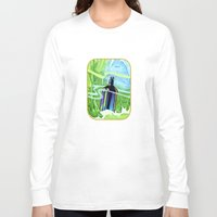 underwater Long Sleeve T-shirts featuring Underwater by Patricia Howitt