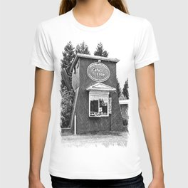 Coffee pot stand T-shirt