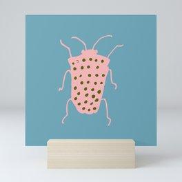 Arthropod blue Mini Art Print