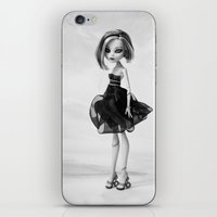 monster high iPhone & iPod Skins featuring Monster High doll  by Marivi Troy