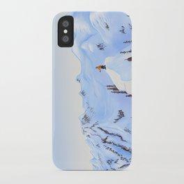 Winter Flight - Drawing 2 iPhone Case