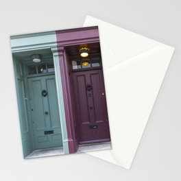 The twins London doors Stationery Cards