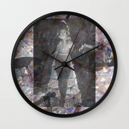 Gems and Gauze Wall Clock