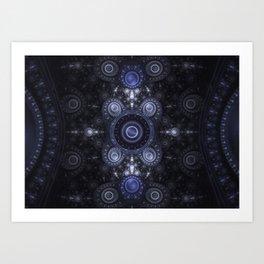 static - Grand Julian Fractal Art Print