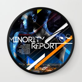 Visions of the Future :: Minority Report Wall Clock