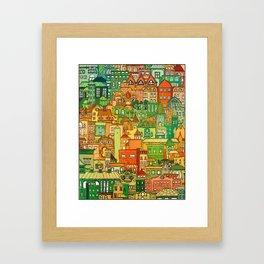 Housing District Framed Art Print