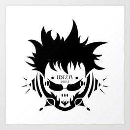 IBIZA BRATS NO.2 Art Print
