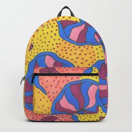 Colorful Retro Abstract Funk Backpack