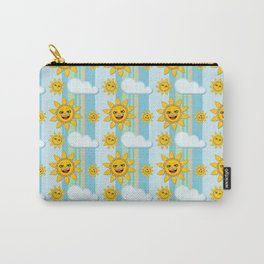 Smiling sun Carry-All Pouch