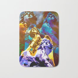 Blue Angels call your Name Bath Mat