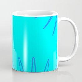 Blue and Blue Coffee Mug