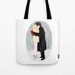 Bridget Jones Kiss Tote Bag