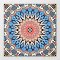 Abstract Flower Mandala by perkinsdesigns